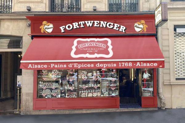 La future boutique Fortwenger de Paris