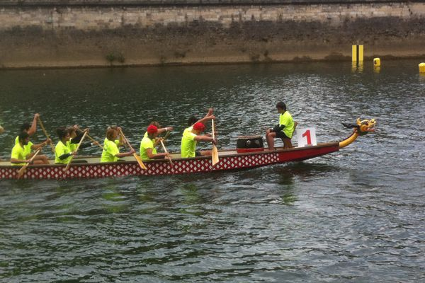 Championnat de France Dragon Boat au coeur de Besançon