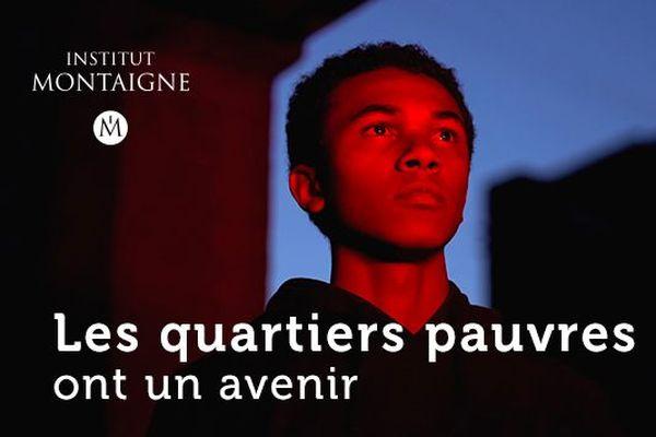 """Le rapport, intitulé """"Les quartiers pauvres ont un avenir"""", s'intéresse 1 296 quartiers prioritaires de la politique de la ville (QPV) situés en France métropolitaine,"""