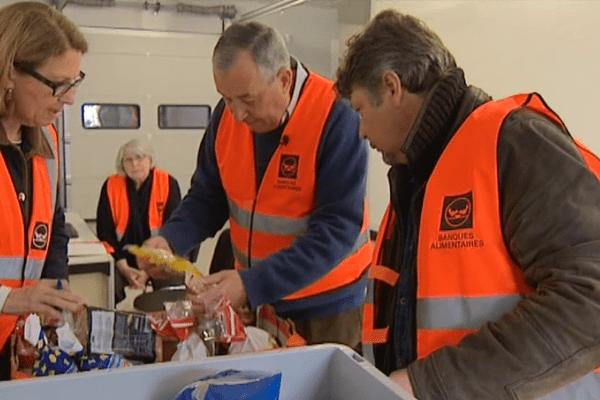 La banque alimentaire d'Amilly peut enfin récupérer des produits frais grâce à deux chambres froides.