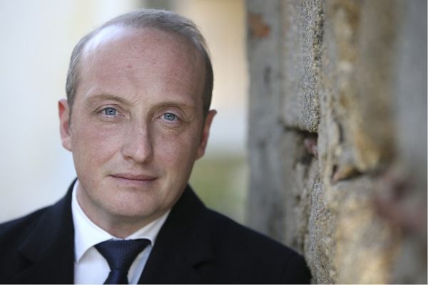 Laurent Marcangeli, président du seul groupe de droite à l'Assemblée de Corse.