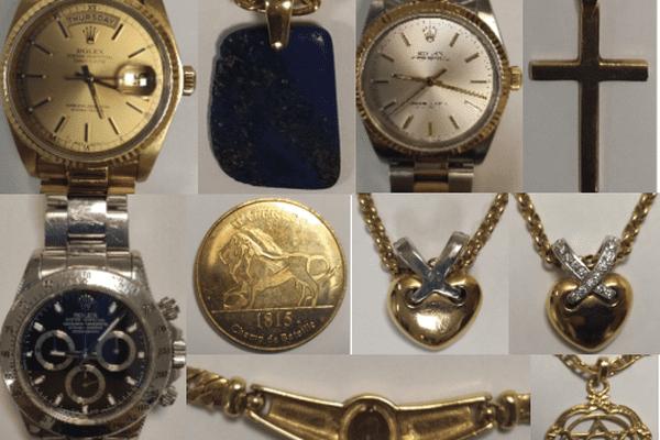 Une dizaine de bijoux volés ont été retrouvés. La gendarmerie lance un appel à témoins pour les rendre à leurs propriétaires.