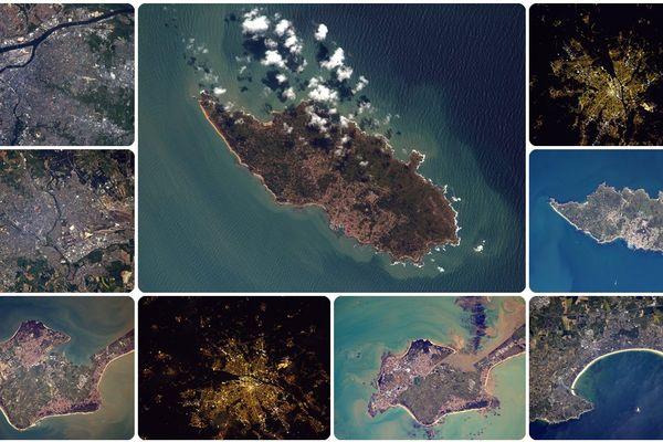 Les photos prises des Pays de la Loire depuis l'espace par Thomas Pesquet