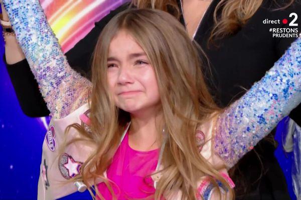 Les larmes de joie de la jeune Rennaise Valentina qui remporte ce dimanche soir l'Eurovision Junior