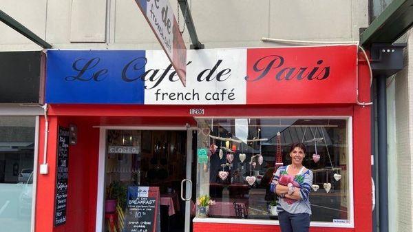 Valérie Janin-Lamouric a ouvert il y a 17 ans ce café français à Rotorua