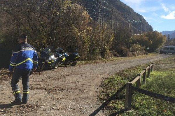 Les lieux du drame : un sentier proche de la RN 20, sur la commune de Tarascon-sur-Ariège
