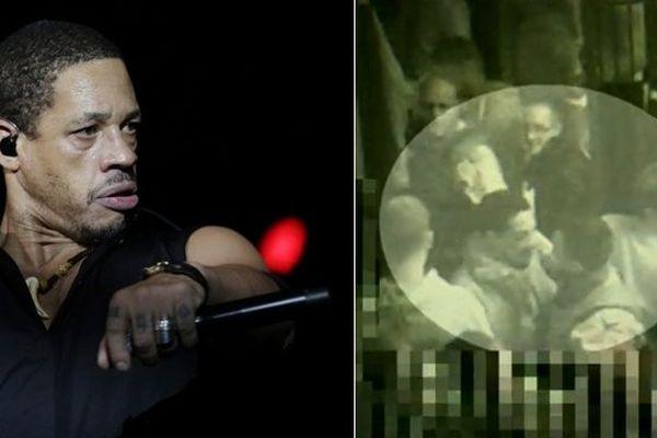 Joey Starr / les images de vidéosurveillance de son altercation dans un club de Liège.