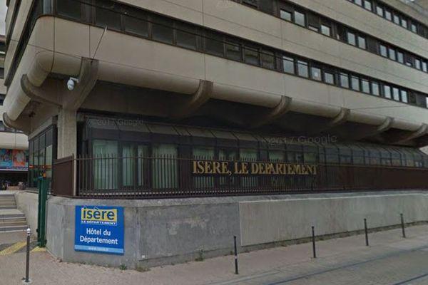 Siège du conseil départemental de l'Isère