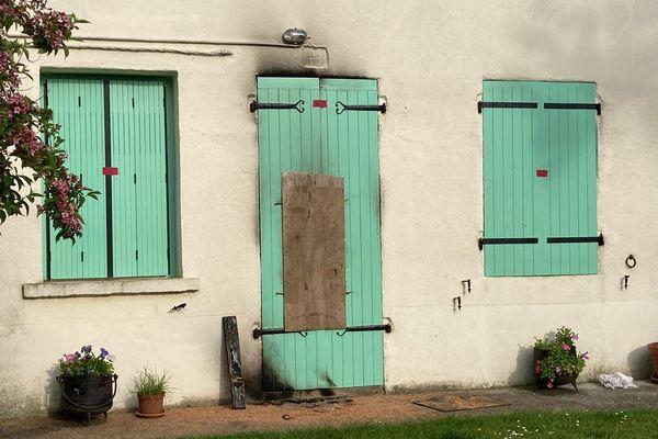 La maison où Arlette Mohar vivait seule aux Pins (Charente).