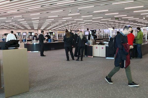 Photo d'archives. Une grève des agents de sûreté de l'aéroport Toulouse-Blagnac risque de créer la pagaille ce vendredi 18 décembre