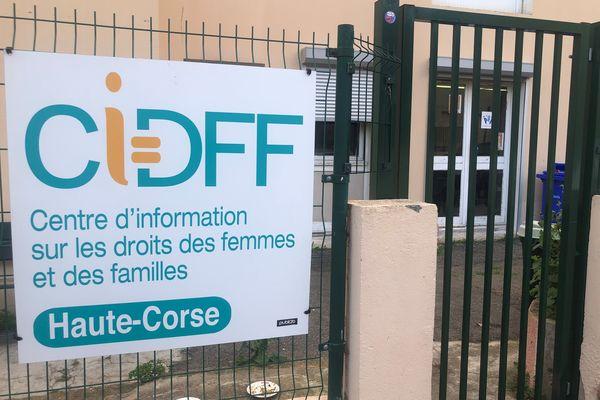Les locaux du CIDFF de Haute-Corse, à Lupinu.