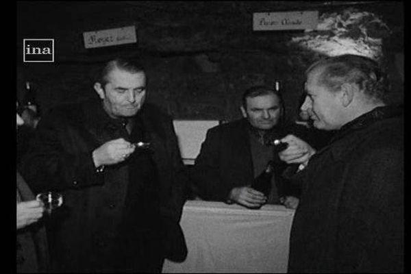 Foire au vin à Vouvray en 1976