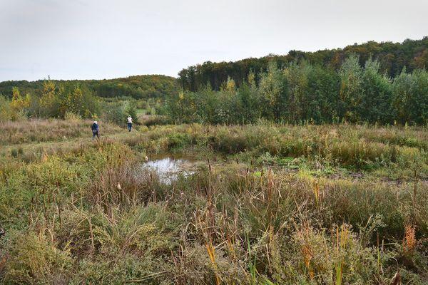 Octobre 2020, le site de Sivens dans le Tarn. Plus de 5 ans après l'annonce de l'abandon du projet de barrage, l'Etat pourrait trancher et annoncer la solution pour répondre aux besoins en eau dans la vallée du Tescou