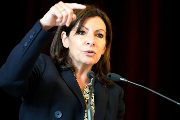 La probable candidate PS à la présidentielle et maire de Paris Anne Hidalgo réunira des maires ce lundi 12 juillet à Viilleurbanne