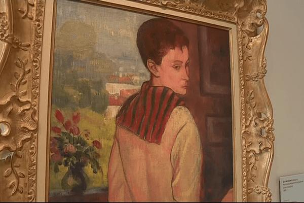 Le Portrait de Madame Schuffenecker, Émile Bernard - 1888