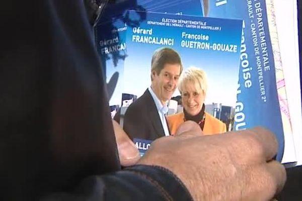 L'UMP en campagne à Montpellier