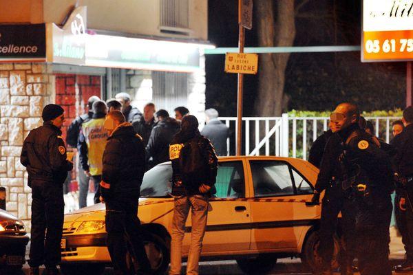 La fusillade a eu lieu dans un snack-pizzeria de la route de Launaguet