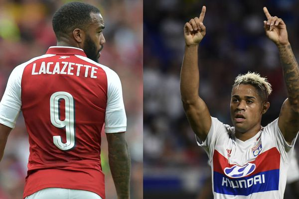 Alexandre Lacazette, parti pour Arsenal, a été remplacé à l'OL par le Dominicain Mariano Diaz.