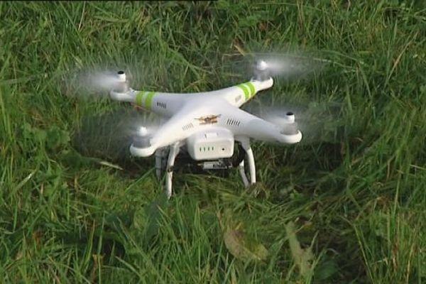 Un drone utilisé en Franche-Comté par une société professionnelle