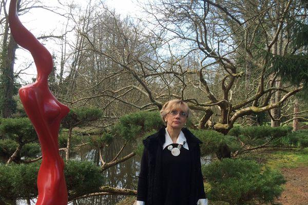 """Marie-France Le Gall présente les oeuvres de sa galerie """"Les Métamorphoze"""""""