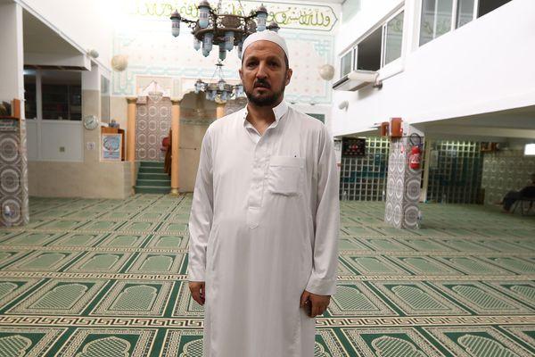 Otmane Aissaoui, l'imam de la mosquée Ar-Rahma de l'Ariane, à Nice, fait partie des 30 signataires