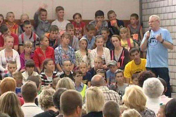 Des petits Ukrainiens en Alsace