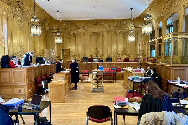 Procès de l'assassinat place de la Croix-de-Bourgogne, cour d'assises de Meurthe-et-Moselle à Nancy, vendredi 17 février.