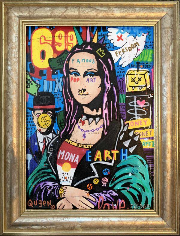 La Punk Mona Lisa de Jisbar