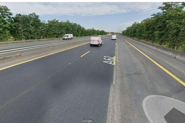 L'accident a eu lieu en fin d'après-midi sur cette section de l'autoroute A62 sur la commune de Castelnau-d'Estrétefonds (Haute-Garonne).