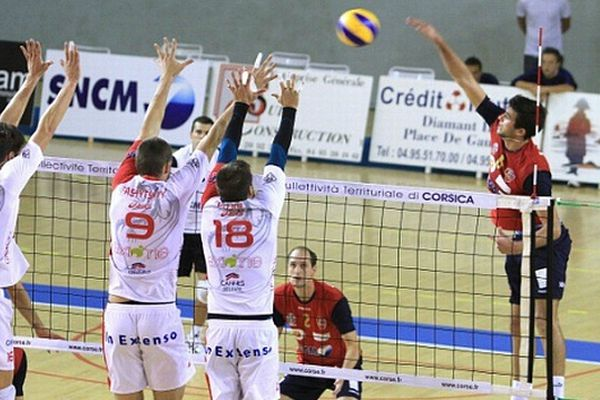 Le GFCA Volley ball, face à Nantes (Archives)