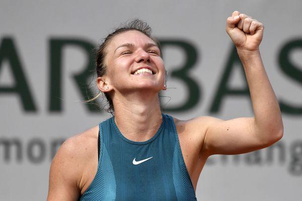 La joueuse de tennis roumaine Simona Halep, le 9 juin 2018, à Roland-Garros.