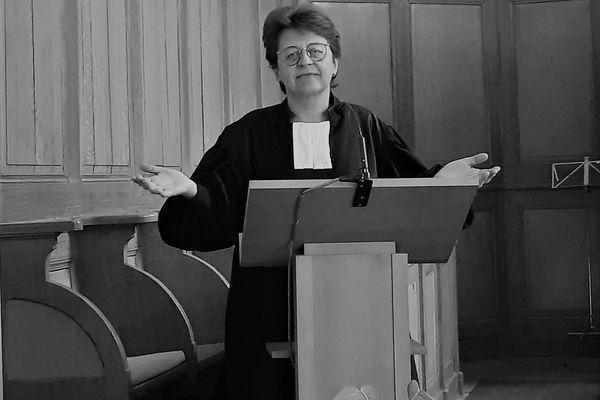 Caroline Keck, pasteure de la paroisse d'Eckbolsheim