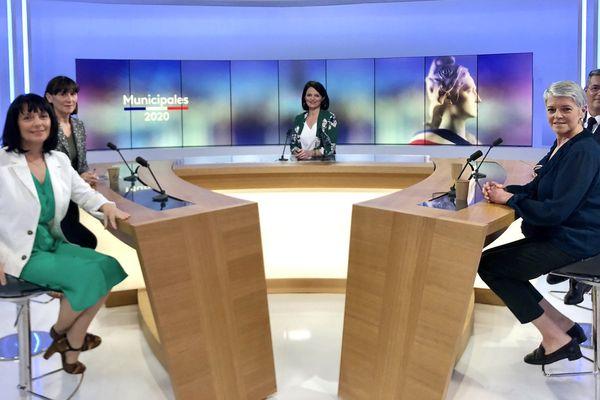 Débat municipales 2020 Les Sables d'Olonne, avant le second tour