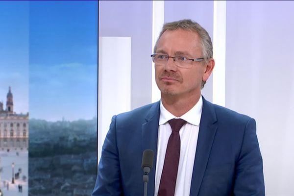 Jean-Marc Huart, le recteur de l'académie de Nancy-Metz.