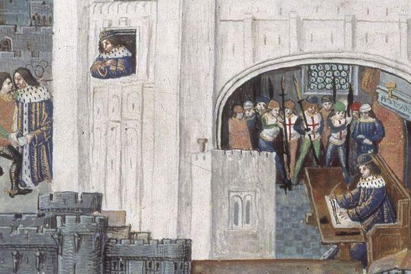 Charles d'Orléans prisonnier à la Tour de Londres.