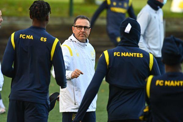 Patrick Collot, entraîneur par intérim du FC Nantes n'a pas obtenu mieux que le nul 1-1 contre Dijon