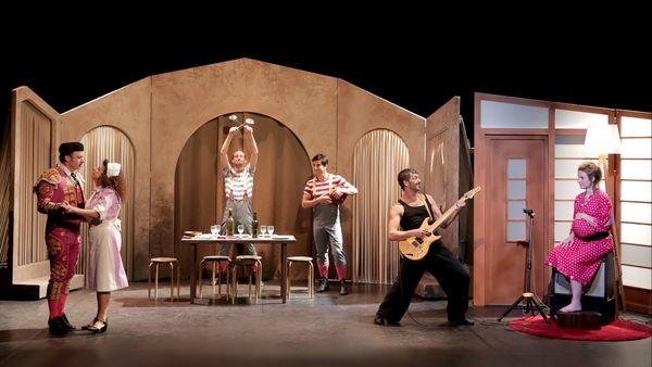 La Famille Ortiz s'agrandit au Théâtre Rive Gauche à Paris