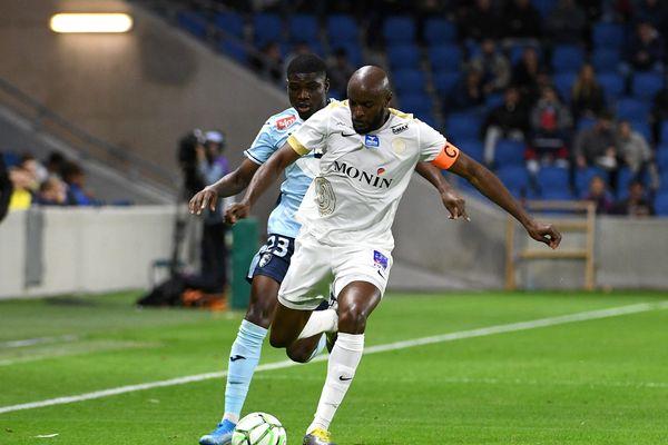 Le capitaine Yannick Mboné a permis à La Berri de s'imposer contre Auxerre vendredi.