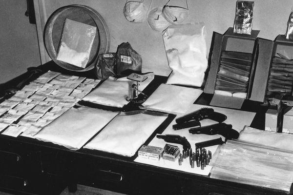 De la drogue, des billets, des armes... la French Connection (photo mai 1970)