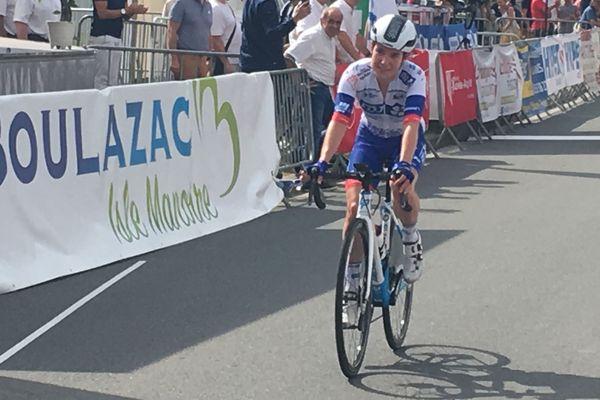 Coralie Demay, première gagnante, de cette nouvelle course.