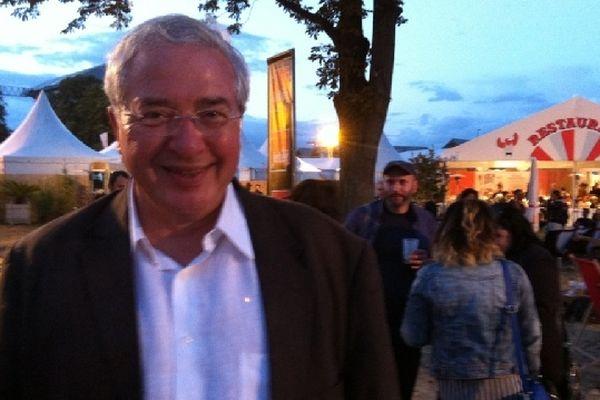 Le Président du Conseil régional était à Rock en Seine samedi 25 août