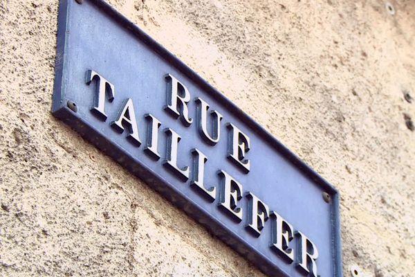 La rue Taillefer, emblématique, particulièrement touchée par le phénomène