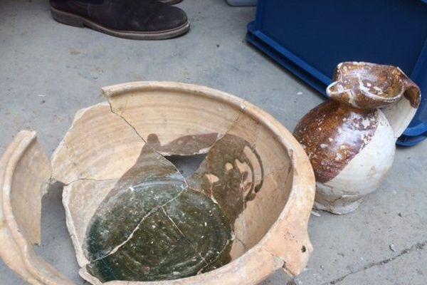 Une poterie datant sans doute du 16 ème siècle