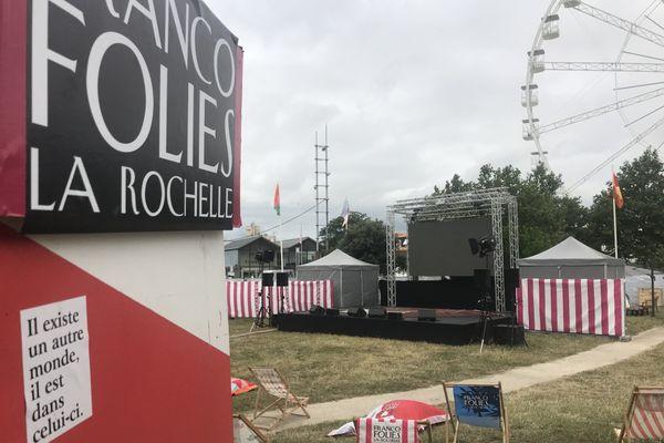 Pour cette édition particulière des Francofolies, le festival a créé sa radio éphémère.