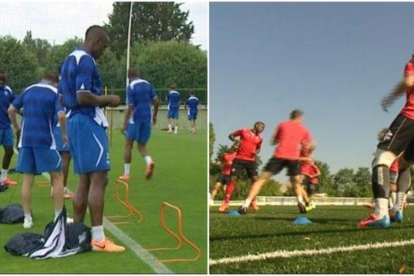 Les bleus d'Auxerre débutent à domicile face au Havre, les rouges de Dijon vont à Nancy.