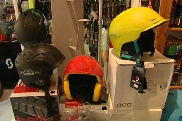 En une journée, une dizaine de casques vendus dans ce magasin