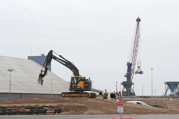 Construction d'un parc éolien à La Rochelle