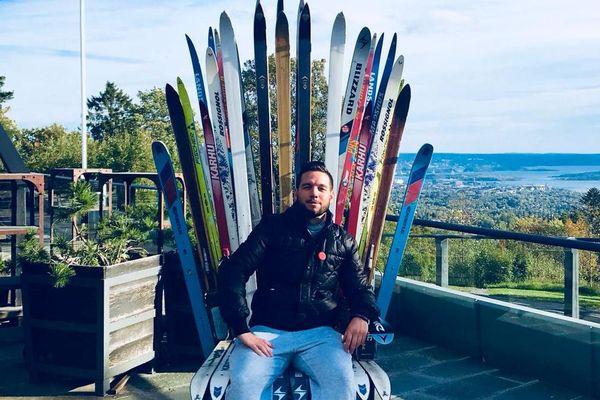 Vincent, un des 5 lauréats du concours Normands autour du Monde, achève son périple à travers l'Europe.
