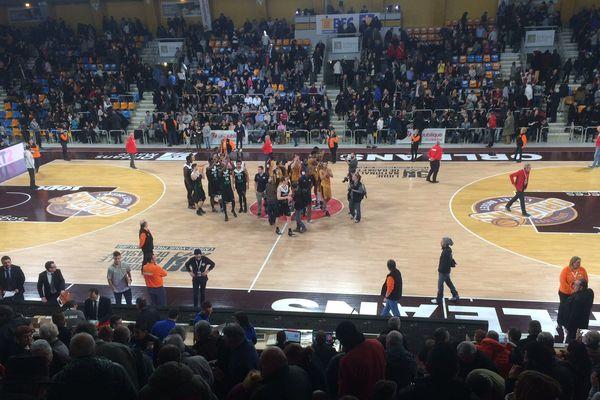 Lourde défaite de l'Orléans Loiret Basket face à l'ASVEL