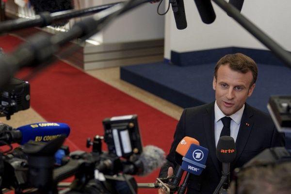 Le président Emmanuel Macron s'est exprimé sur la situation de General Electric à l'issue du sommet de l'Union Européenne à Bruxelles ce mardi 28 mai.